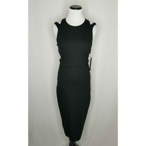 French Connection Dresses - French Connection Black Lula Stretch Cut Out Dress
